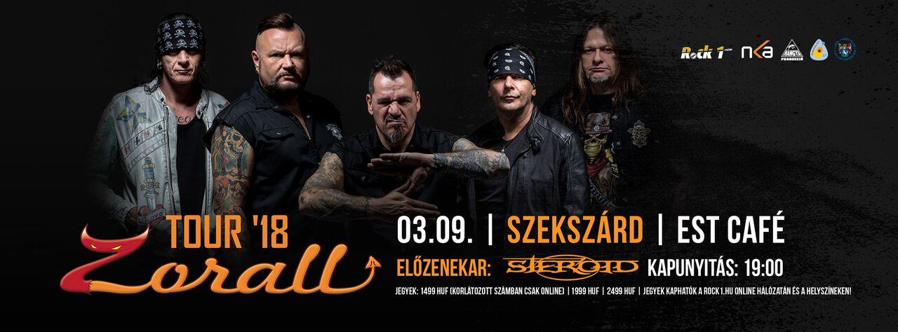 ZORALL Tour 2018 - Szekszárd