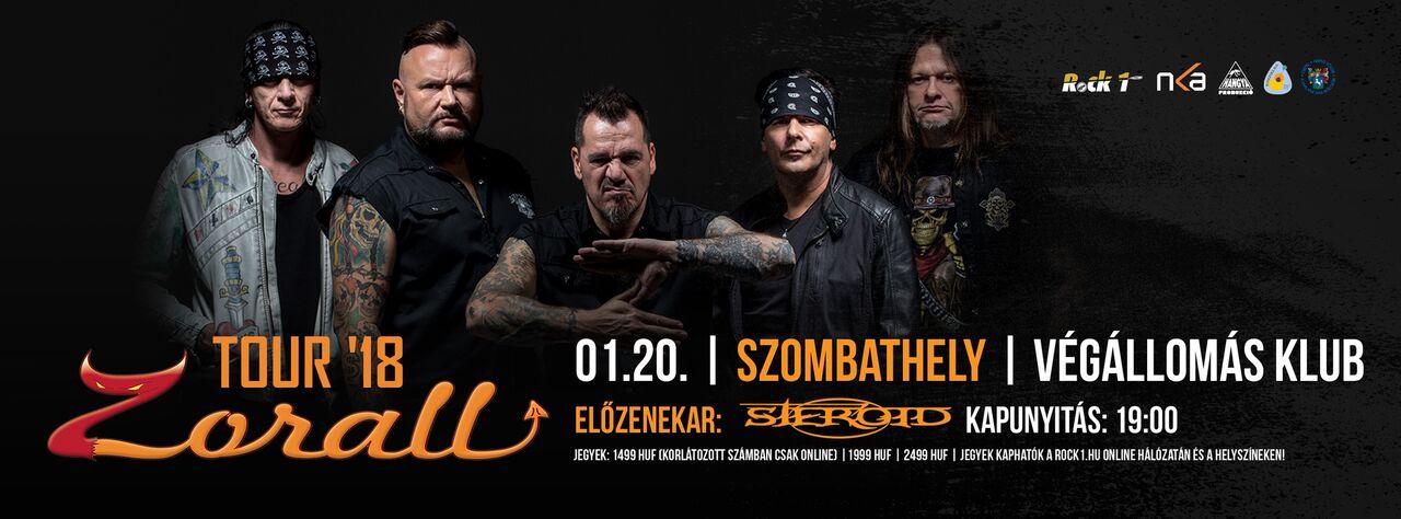 ZORALL Tour 2018 - Szombathely