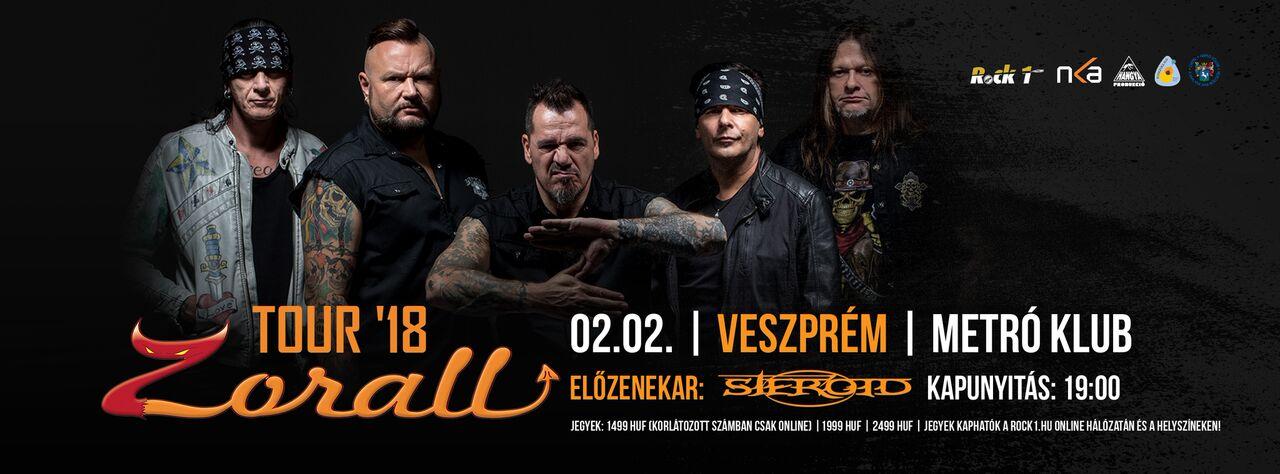 ZORALL Tour 2018 - Veszprém